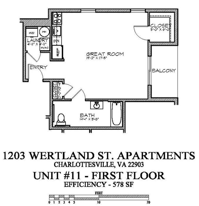 Efficiency Apartment Charlottesville Va
